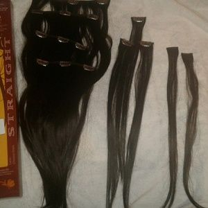 Euronext hair extensions 14` clip in